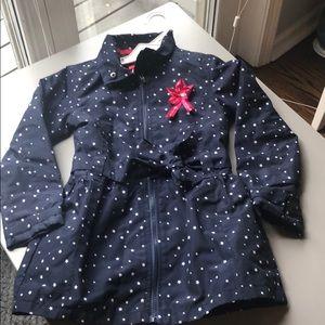 💐HP💐 NWOT star trench coat- 128 cm -7-8 y